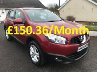 July 2012 Nissan Qashqai Acenta 1.5dci 2WD **Finance available**