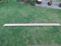 Wooden mounted pelmet curtain track 236cm * 4cm * 2cm