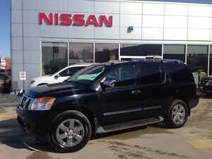 2012 Nissan Armada PLATINUM/NAVI/DVD/BLACK ON BLACK!!