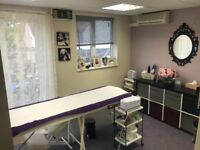 Beauty treatment room to rent £450 pcm inc WiFi and bills