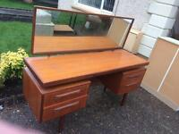 G Plan Fresco dressing table/desk