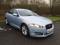 JAGUAR XF 2.2 163 BHP R SPORT 8 SPEED AUTO WITH PADDLE SHIFT - FULL MOT - EXCELLENT COND - CAT D