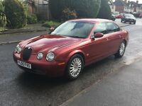 JAGUAR S TYPE 2.7 DIESEL AUTOMATIC 2005 05 THREE OWNER SERVICE HISTORY FULL LEATHER ANY P/X WELCOME