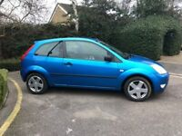 Ford fiesta 1.4 zetec 16v moted & taxed low mileage quick sale