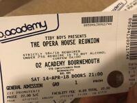Tidy Boys - Opera House Reunion x2 tickets!