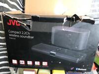 Jve compact surround sound bar