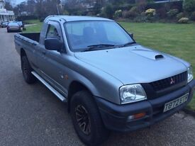 Mitsubishi L200 Animal, Great Condition, FULL MOT 12 months, 4WD Single Cab, Silver