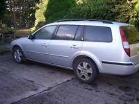 2001 Ford Mondeo 2.0D Ghia Estate - Silver