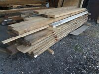 """9"""" x 2"""" timber 15ft lengths approx just £12 per length"""