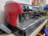 La Spaziale S5 3 Group Coffee Machine.