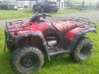Honda Farm Quad 300 cc 2WD and Trailer No Swops £1,499