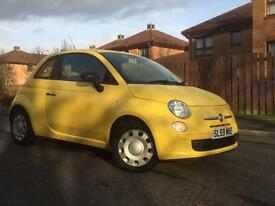 59 Reg Fiat 500 Pop 1.2 Long Mot, FSH