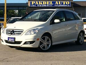 2011 Mercedes-Benz B-Class B200*PREMIUM PKG*PANORAMIC ROOF*BLUET