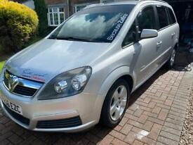 Vauxhall Zafira for sale part exchange