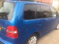 Volkswagen Touran 2.0TDI 130 BHP, LongMOT, only 150K service history, Cambelt don 150k @£1595