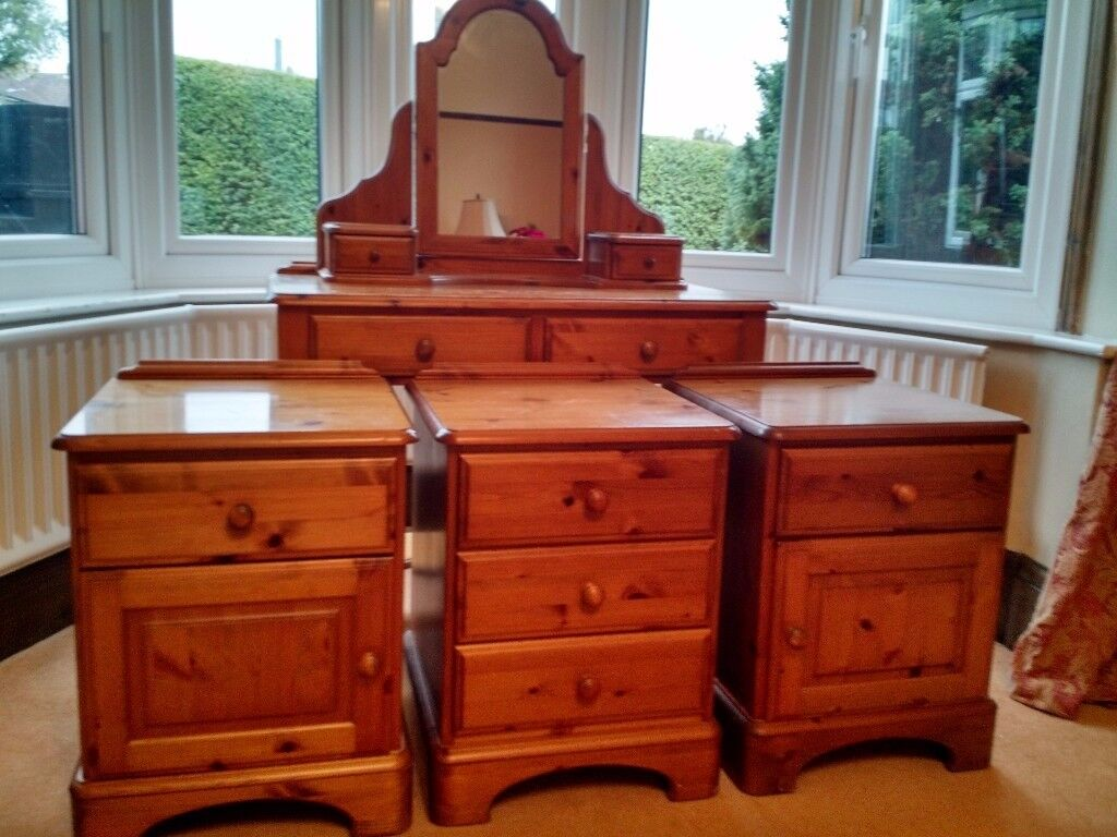 Ducal Bedroom Furniture Solid Pine