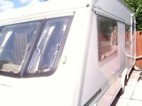 Elddis EX300 Jetstream Luxury 4 Berth Caravan