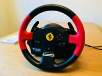 Thrustmaster T150 Ferrari steering wheel for PS4/PS3