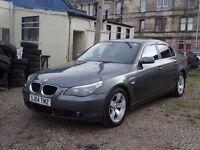 04 plate bmw 525 sport 10mnths mot original well lukd after car FULL BLACK LEATHER SAT NAV MINT
