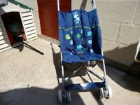 PUSH CHAIR IN VERY GOOD CONDITION. HARDLY USED.