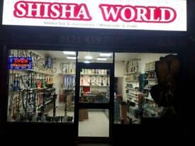 Glass shisha pipe
