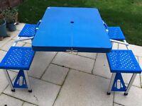 Foldable Picnic Table Set