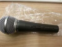 Shure sm58s switched microphone brand new and boxed