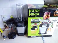 Nutri Ninja Blender 900W ***PERFECT CONDITION, USED TWICE***
