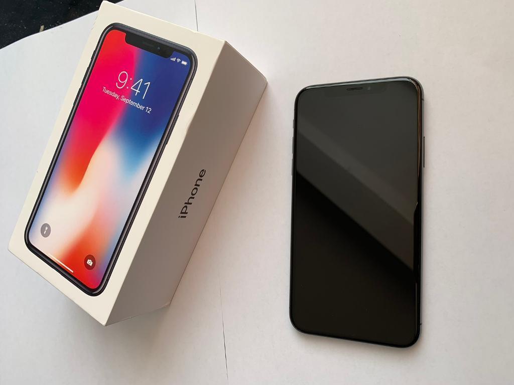 Bargain Iphone X Space Grey 256gb Sim Free In Walthamstow