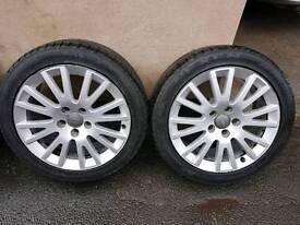 Alloy wheels. Audi a3 8p sport. Ronal 5 stud 7.5j x17 h2