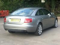 2004 AUDI A6 3.0 TDI QUATTRO AUTOMATIC S LINE BLACK LEATHER HEATED SEATS FSH DRIVES SMOOTH PX AUTO