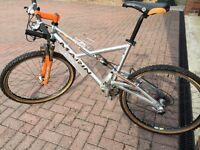 "Marin Mount Vision Mountain Bike, 19"" frame, 26"" wheels vgc."