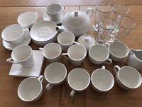 4 SETS of Maxwell Williams + 4 x Latte Glasses + Teapot!