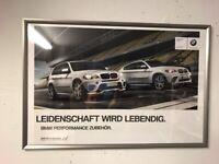 BMW POSTER, BILD, X5, X6, MIT RAHMEN, TOP !!!!! Baden-Württemberg - Ettlingen Vorschau