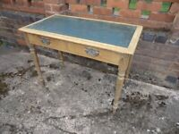 Antique Pine Desk / Side Table