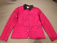 BARBOUR Liddesdale Women's Coat in Pink Size 10 - Ladies / Girls Jacket