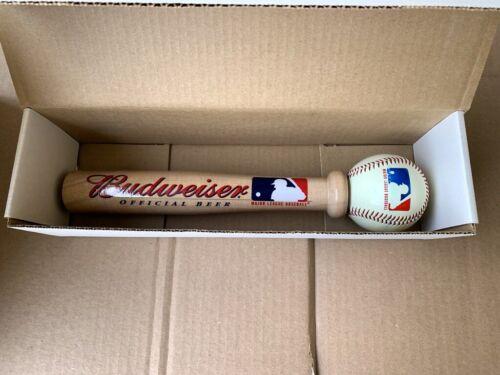 (NEW-OLD-STOCK) Budweiser  Beer - Tap Baseball & Bat - original Box