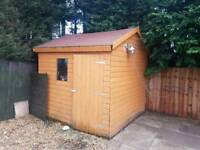 8x8 used shed
