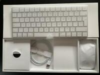 New Apple Magic Mouse and Keyboard