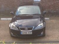 2006 Lexus is 220d very good condition one owner from new LOW MILEAGE