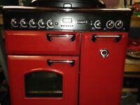 Range Master Red Oven