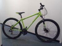 """Raleigh Designed Graben 29er - 18"""" HydroAluFrame Bike/Dual Disc/29"""" wheels/Frnt Susp - RRP £390"""