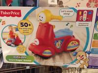 Fisher Price Scooter Brand New