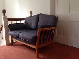 Ercol style sofas x2 - non smoking, no pets