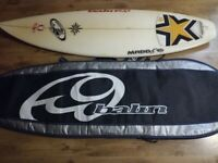 BALIN MADDOG SURFBOARD AND CARRY CASE