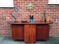 Vintage SKOVBY DANISH Sideboard Rosewood Teak Mid Century Retro 60s 70s