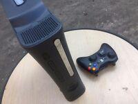 Black Xbox 360 1st Gen