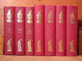 Gigantic run of Punch Magazine: 1841-1984 Bound Volumes