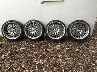 """BMW 19"""" Alloys Wheels, Size-225/35 F and 255/30R """"19"""" Alloys"""