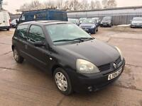 Renault clio 1.2 16v extreme sunroof 3 door 2004, full service history, 2 keys, excellent condition